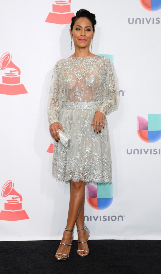Grammys Latinos 2015: la actriz Jada Pinkett Smith