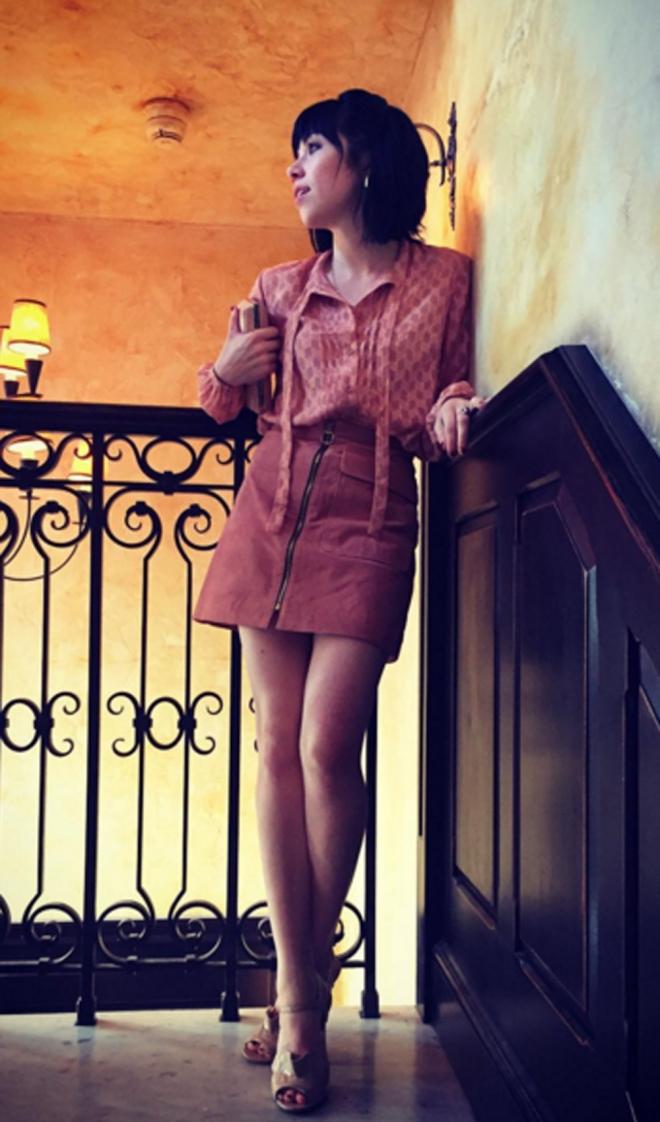 Carly Rae Jepsen, sencilla pero elegante