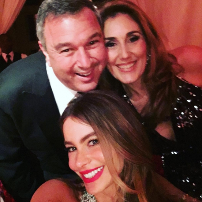 Boda de Sofía Vergara: una fiesta llena de selfies