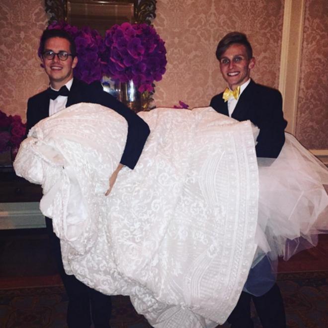 Boda de Sofía Vergara: su espectacular vestido de novia
