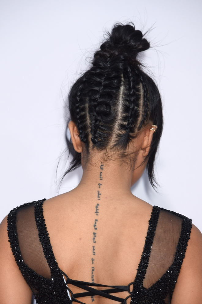 Peinados AMAs 2015: Las trenzas de Karrueche