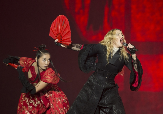 Rebel Heart Tour: Madonna lo da todo