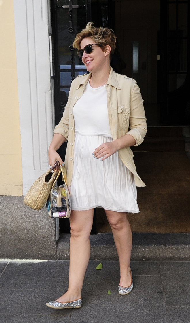 Tania Llasera, feliz nada más anunciar su embarazo