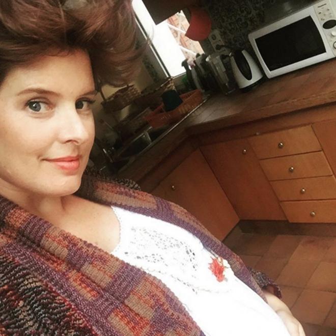 Tania Llasera, feliz y encantada con su embarazo