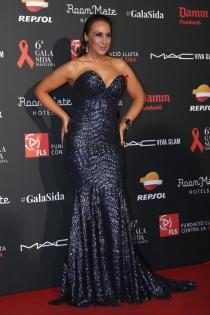Mónica Naranjo apuesta por el glitter