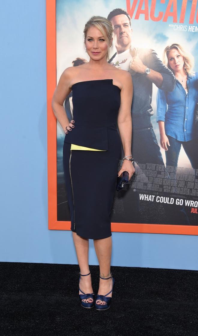 Christina Applegate, vestido de cóctel
