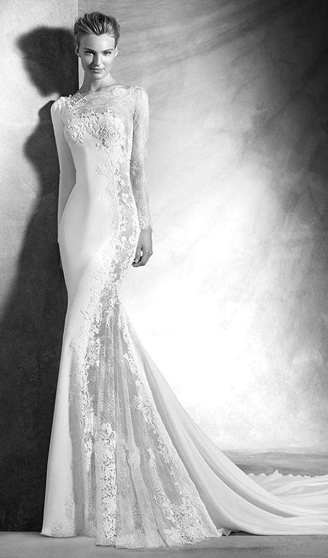 Vestidos de novia 2016: un diseño sexy de Pronovias