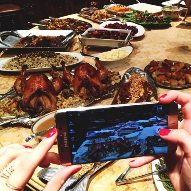 Acción de Gracias 2015: la cena de las hermanas Hadid