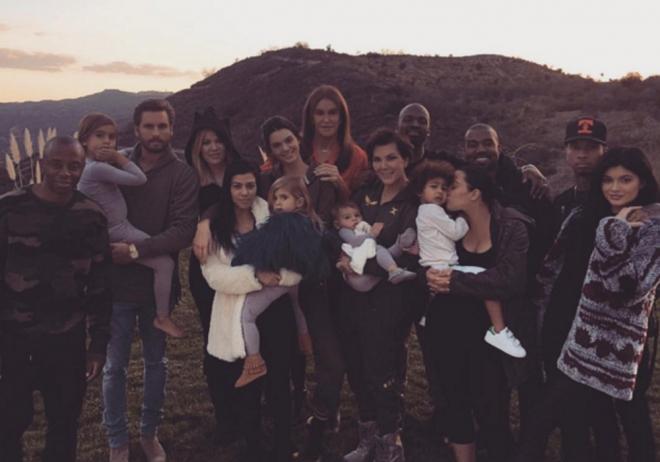 Acción de Gracias 2015: las Kardashian al completo