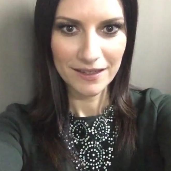 Famosas sin maquillar: Laura Pausini al natural
