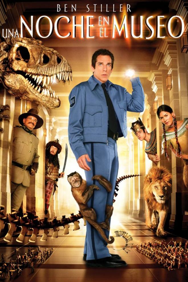 Películas de Ben Stiller: Noche en el museo