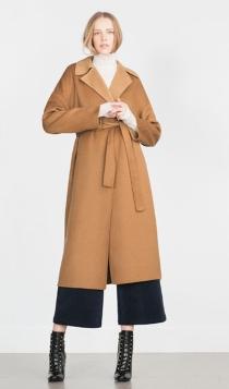 Abrigos para 2016: un abrigo a la moda con Zara