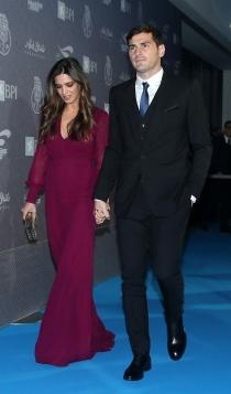 Sara Carbonero embarazada y su novio Iker Casillas