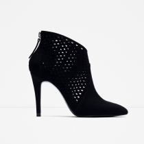 Zapatos para 2016: botines de ZARA en negro