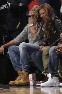 Beyoncé y Jay Z, risas y diversión