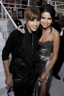 Justin Bieber y Selena Gomez, dos tortolitos