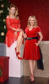 Figuras de cera de famosos: Kylie Minogue, en el Tussauds de Londres