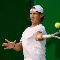 Rafa Nadal y su cara más rara en el juego