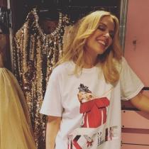 La Navidad más fashion de Kylie Minogue