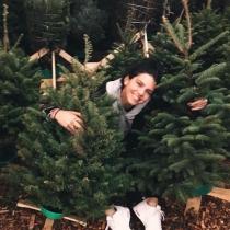 La Navidad llena de árboles de Kendall Jenner