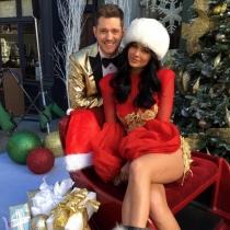La Navidad más sexy de Kylie Jenner con Michael Bublé