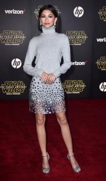 Premier Star Wars: Zendaya, original y divertida