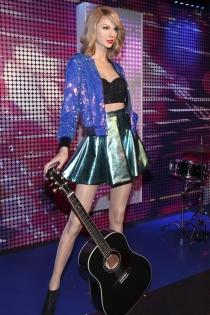Taylor Swift, de cera con 1989
