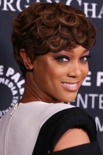 Cortes de pelo pixie: Tyra Banks, muy guapa