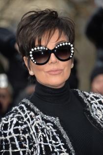 Cortes de pelo pixie: Kris Jenner, siempre con estilo