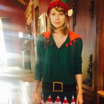 Taylor Swift, un divertido elfo navideño