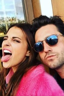 Paula Echevarría y David Bustamante, siempre divertidos