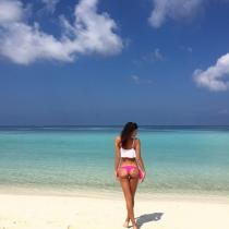 Irina Shayk nos dejó sin palabras con su posado en la playa
