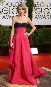 Vestidos Carolina Herrera: Taylor Swift, radiante y estupenda