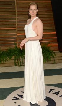 Vestidos Carolina Herrera: Amy Adams, muy sexy