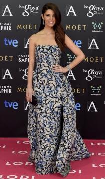 Vestidos Carolina Herrera: Juana Acosta, muy guapa