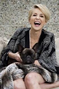 Perros de famosos: Joe, el fiel amigo de Sharon Stone