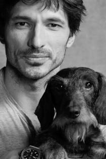 Perros de famosos: Chechu, el perro de Velencoso