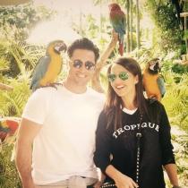 Paula Echevarría y Bustamante, felices en Miami