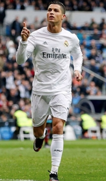 Famosos que son altos: Cristiano Ronaldo mide 1'85 metros
