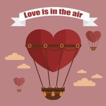 El amor está en el aire con las tarjetas de San Valentín