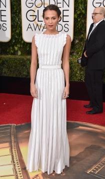 Oscars 2016: Alicia Vikander por La chica danesa