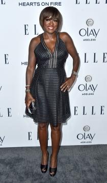 ELLE Women in Television: Viola Davis, muy guapa