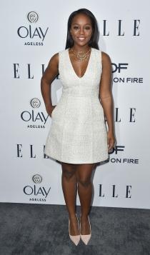 ELLE Women in Television: Aja Naomi, total white