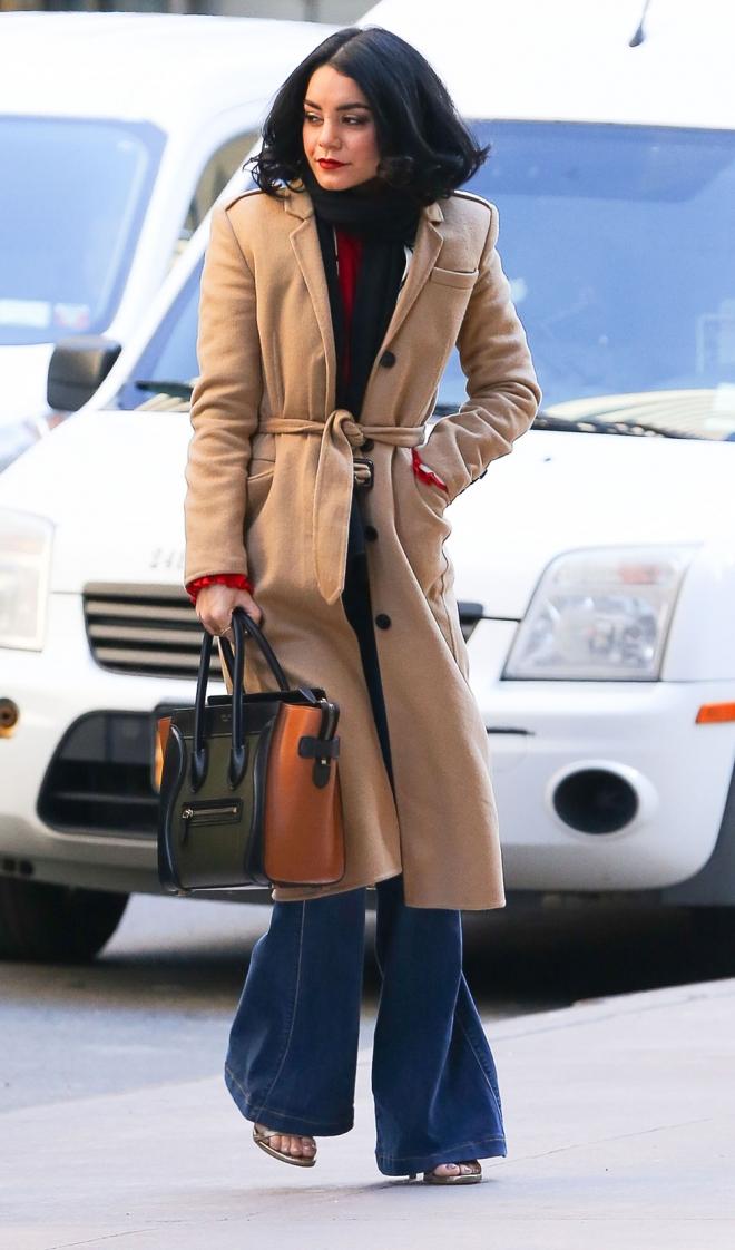 Vanessa Hudgens, una enamorada de los pantalones de campana