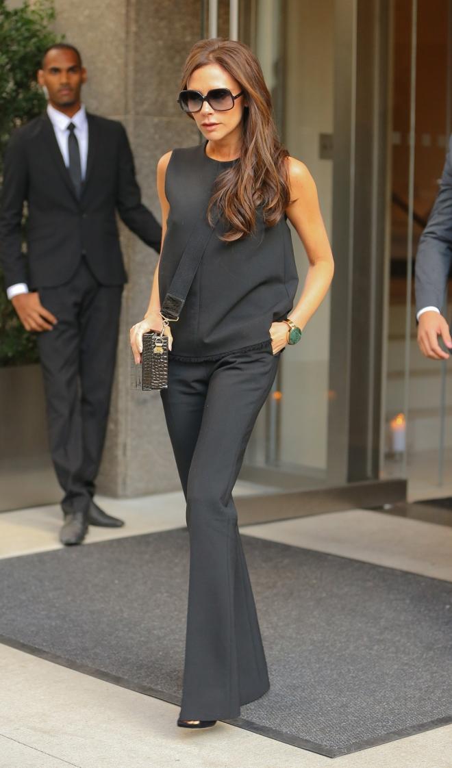 Victoria Beckham, una empresaria con pantalones de campana