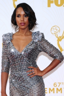 Famosas con falso bob: Kerry Washington, estupenda