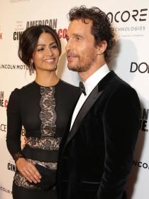 Camila Alves, enamoradísima de Matthew McConaughey