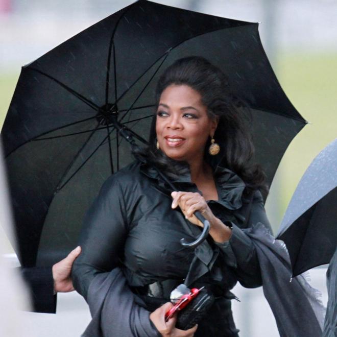 Oprah Winfrey manda porque es la más diva