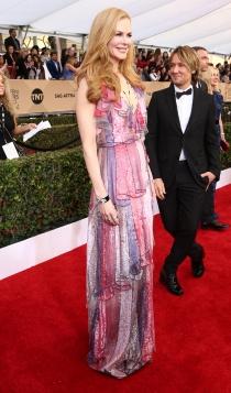 SAG Awards 2016: Nicole Kidman, todo a Gucci