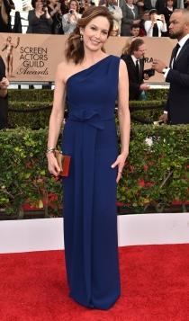 SAG Awards 2016: Diane Lane, de azul noche